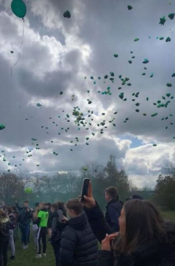Tyler James was fined twice over a balloon release
