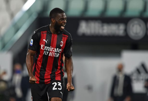 Chelsea Loanee Fikayo Tomori scored Milan's last goal in a 3-0 win