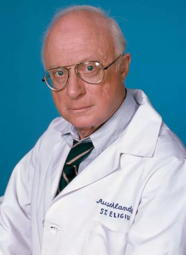 Norman Lloyd plays Dr.