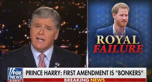 Hannity called the First Amendment `` one of America's most sacred rights ''