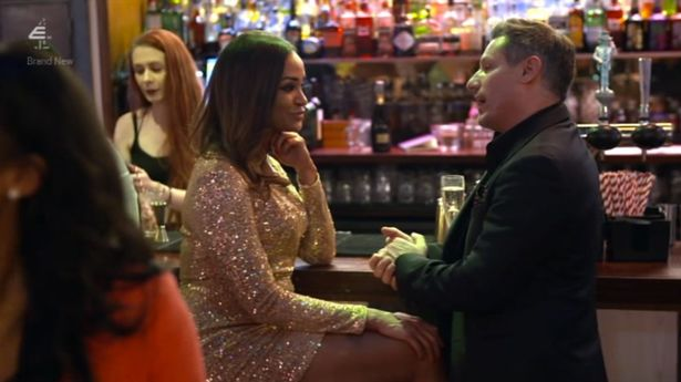 Dean was mocked over his age during a date on Celebs Go Dating