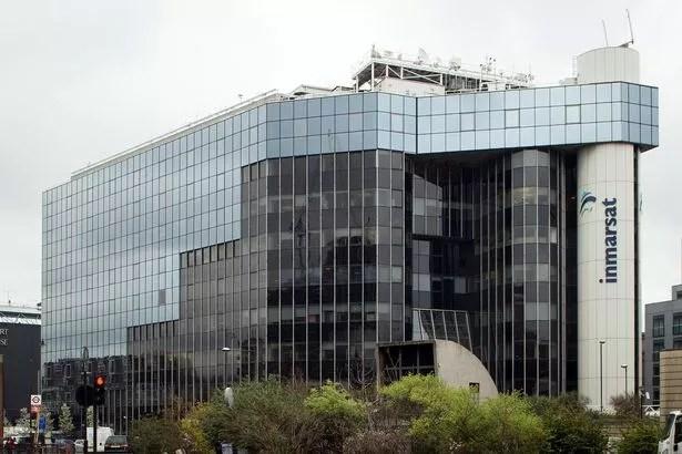 Zyrat e operatorit satelitor Inmarsat në Londrën qendrore