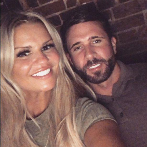 Kerry with future husband Ryan