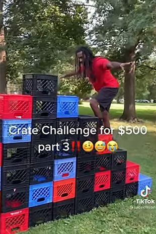 The Milk Crate Challenge