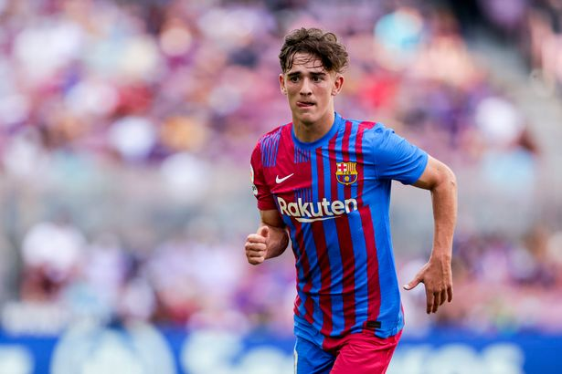 Gavi of Barcelona has caught the eye of Liverpool and Man Utd after breaking into the first team aged 17