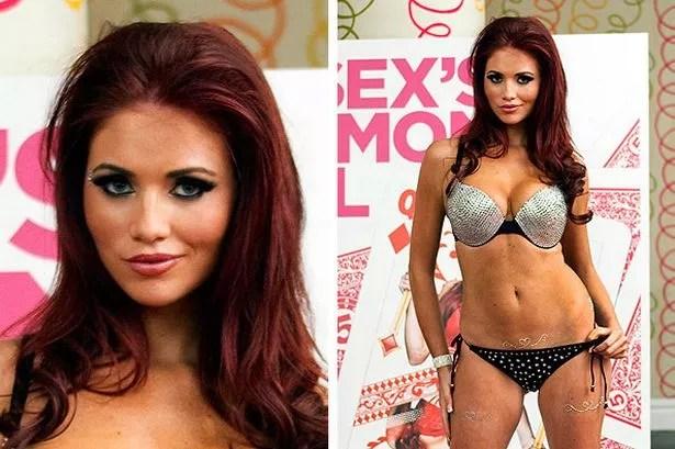 TOWIE's Amy Childs Wears Revealing Bikini To Launch Her