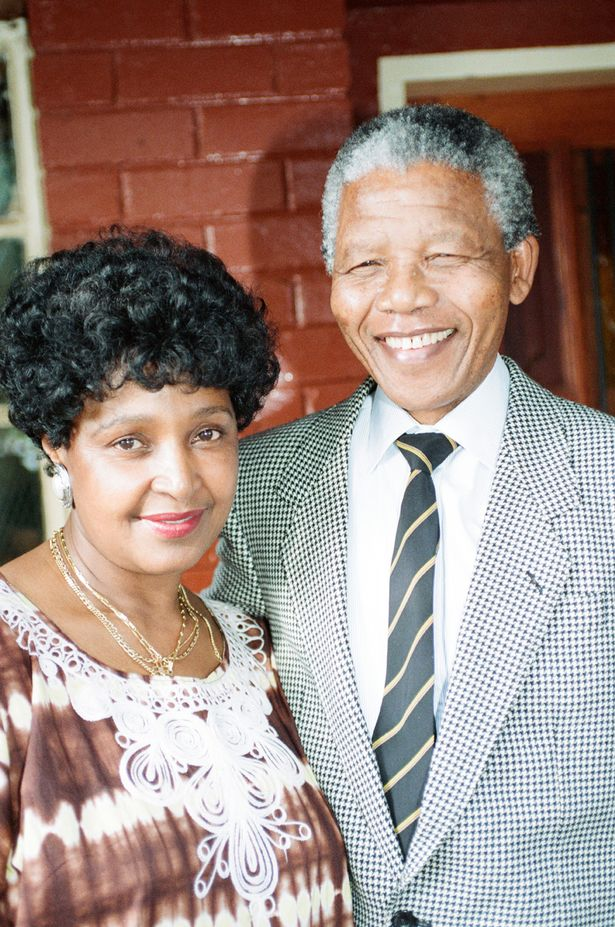 The couple separated two years before Nelson became South Africa's President in 1994
