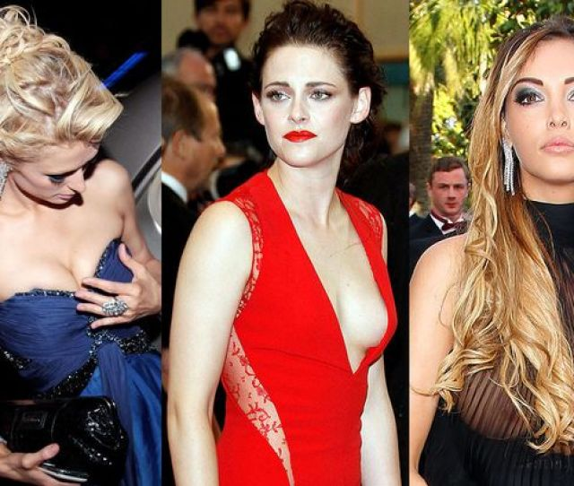 Cannes Historic Wardrobe Malfunctions From Eva Longorias Knickers To Nicole Kidmans Nipples