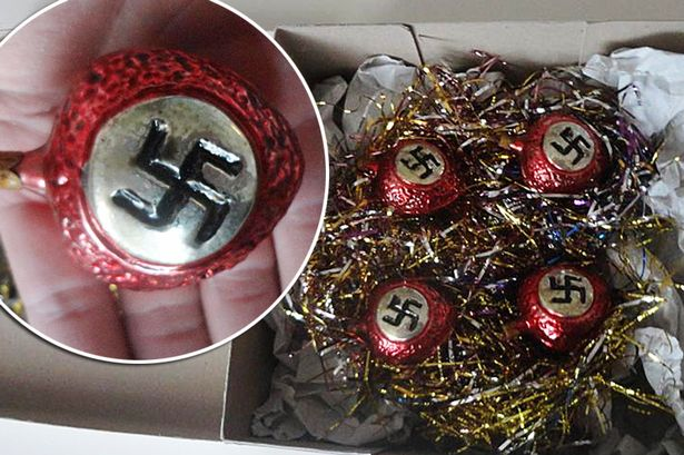 Outrage After Wartime Nazi CHRISTMAS Baubles Go On Sale