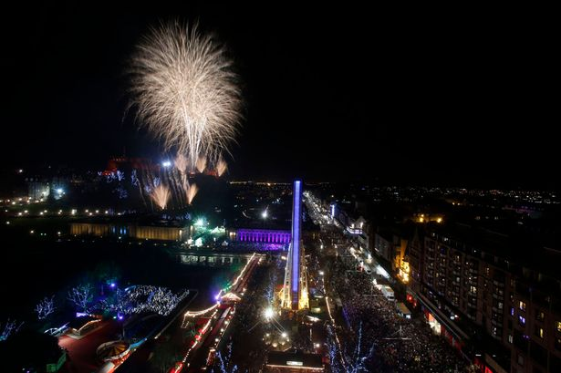 New Year s Eve 2016  Edinburgh and Glasgow revellers to celebrate     Edinburgh throws a massive street party for Hogmanay  Image  PA