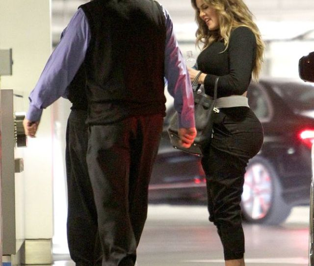 Khloe Kardashian Arrives At An Office In Beverly Hills