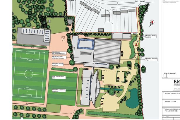 london colney training ground