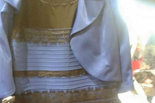 White And Gold Dress Heres The Science Behind Why Some People See Blue