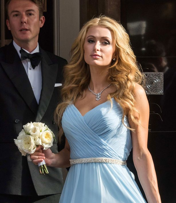 First Pictures Of Nicky Hiltons Stunning Wedding Dress