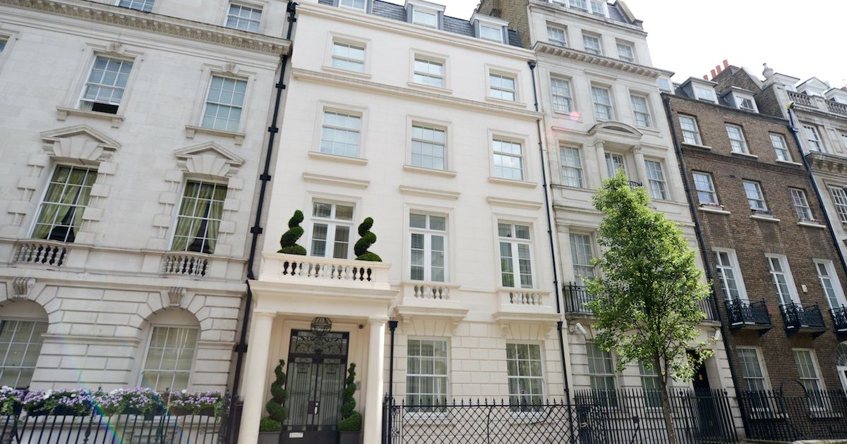 London's Most Expensive Home Of The Year? Luxurious £90m