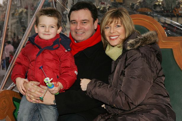 Eamonn Holmes, Ruth Langsford and son Jack