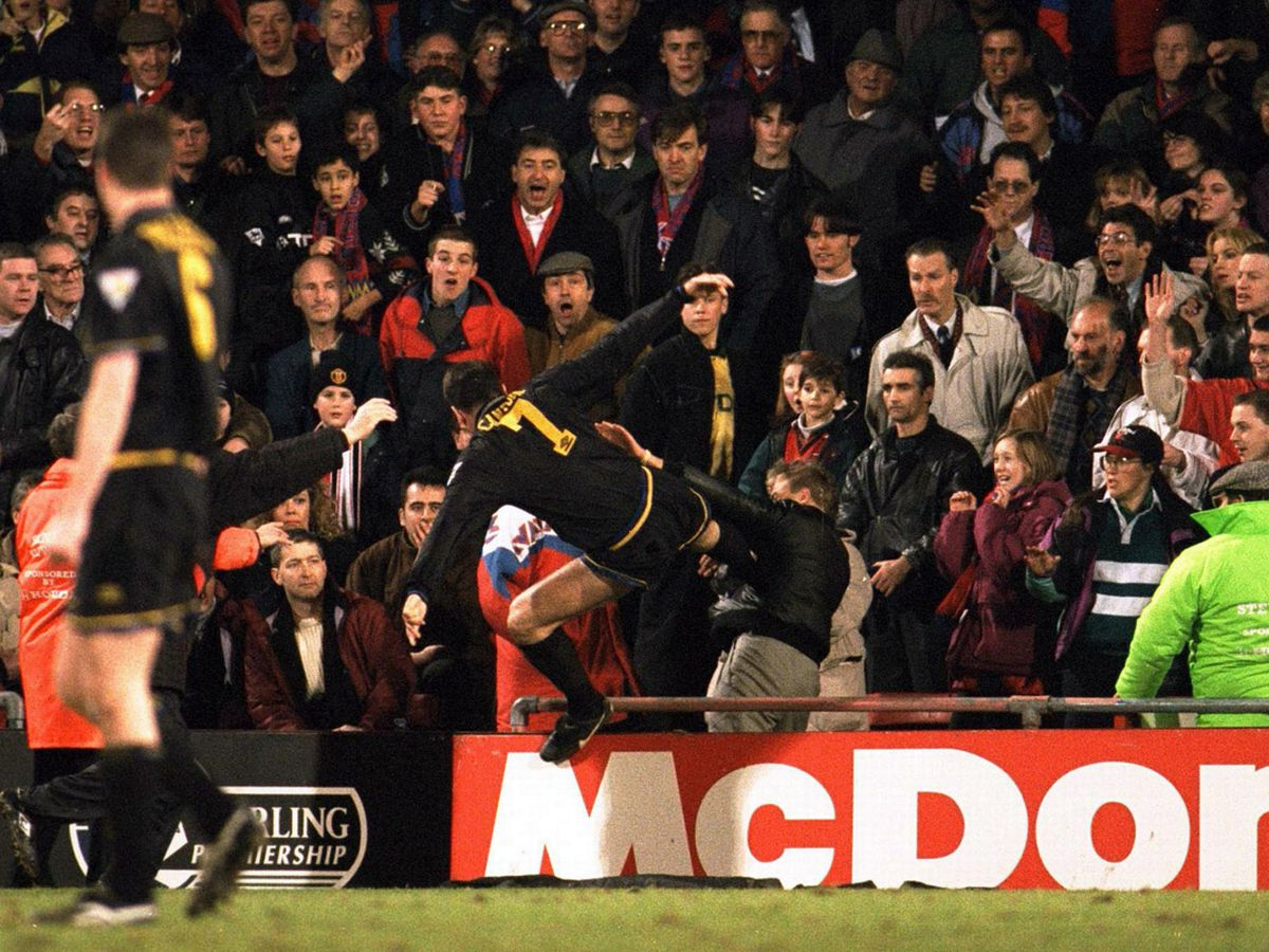 The only thing i regret. Eric Cantona Insists He Does Not Regret Infamous Kung Fu Kick I Should Have Kicked Him Harder Mirror Online