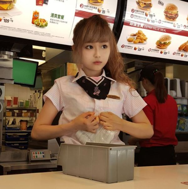 'McDonald's goddess' becomes viral hit as fans flock to ...
