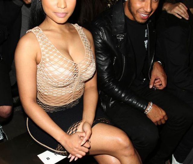 Formula 1 Star Lewis Who Previously Dated Nicole Scherzinger And Was Also Linked To Model Winnie Harlow Was Quick To Like The Clip