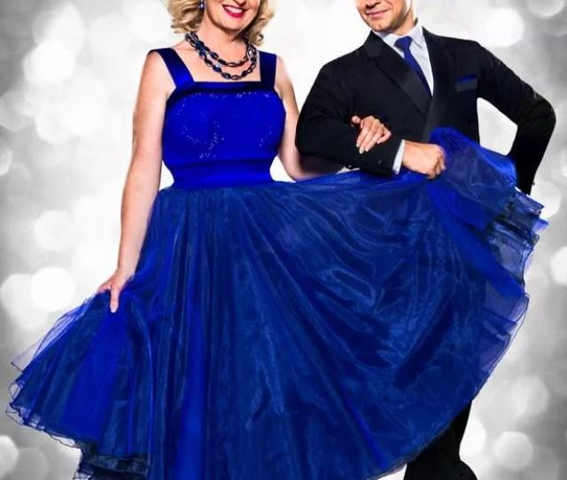 Carol Kirkwood With Pasha Kovale On Strictly Image Bbc