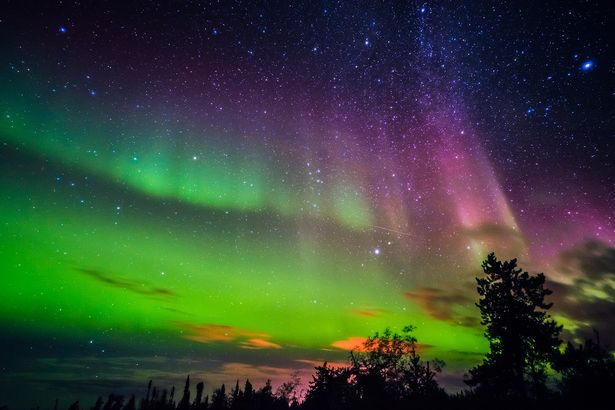 Chance Seeing Northern Lights Tonight