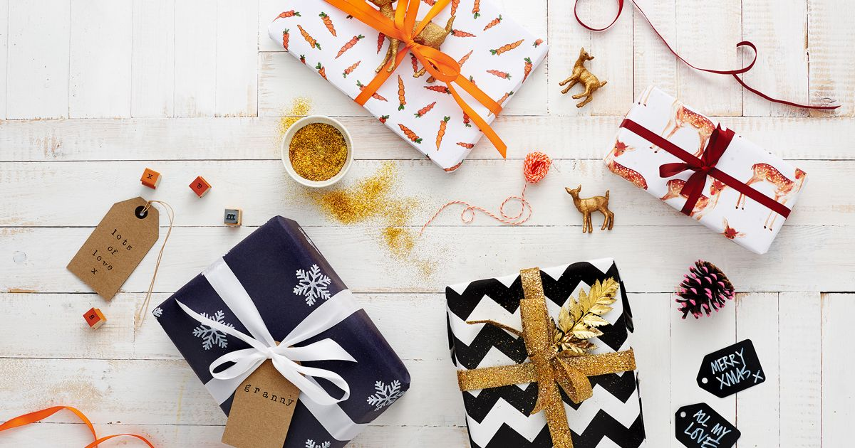 How To Make Christmas Cards And Wrapping Paper Easy