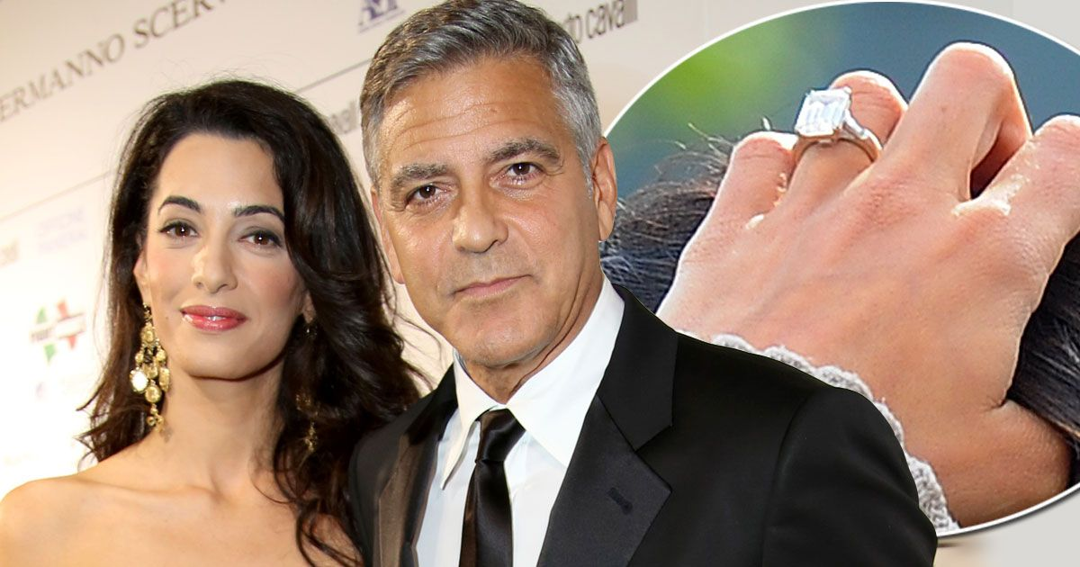 Amal Clooney To Replace 450k Engagement Ring Because Its