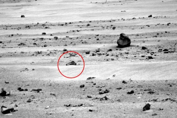 Does this NASA image of Mars show an alien gun lying on ...