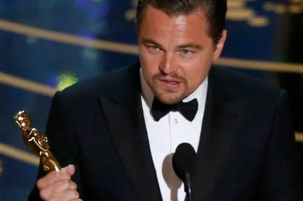 Leonardo DiCaprio 'celebrated Oscars win by spending night ...