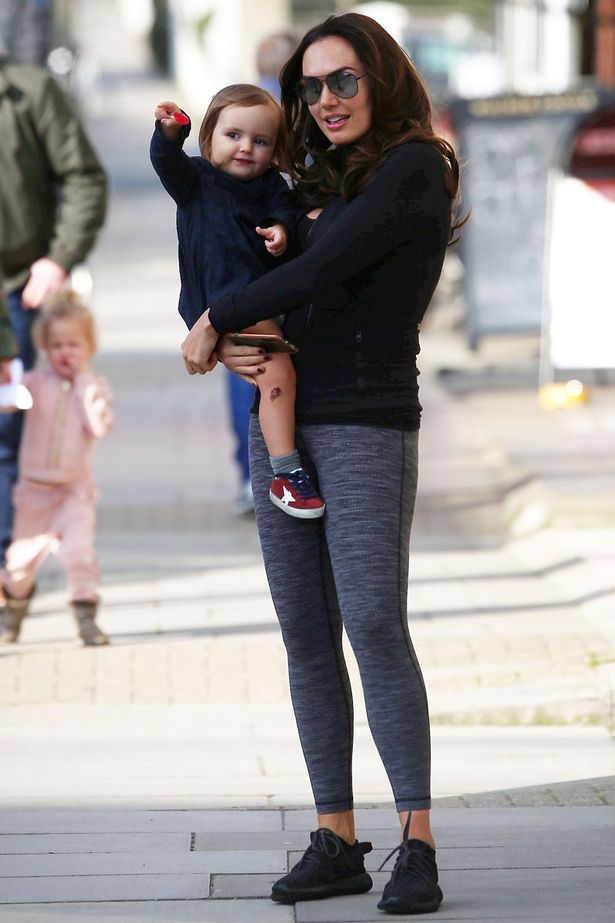 Tamara Ecclestone Enjoys Day Out With Her Daughter As