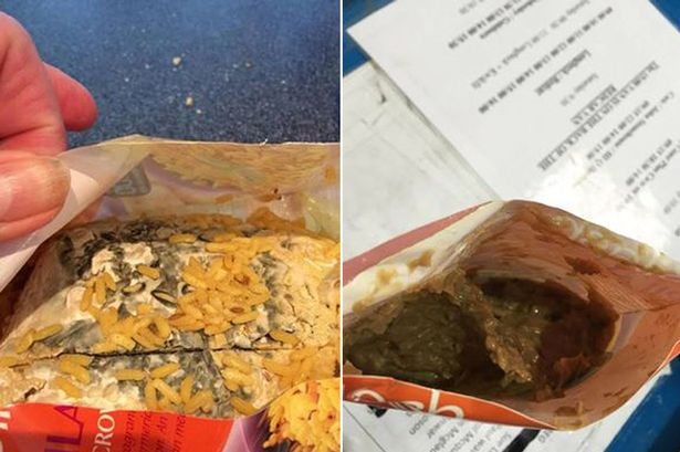 finding rice bag filled with mould