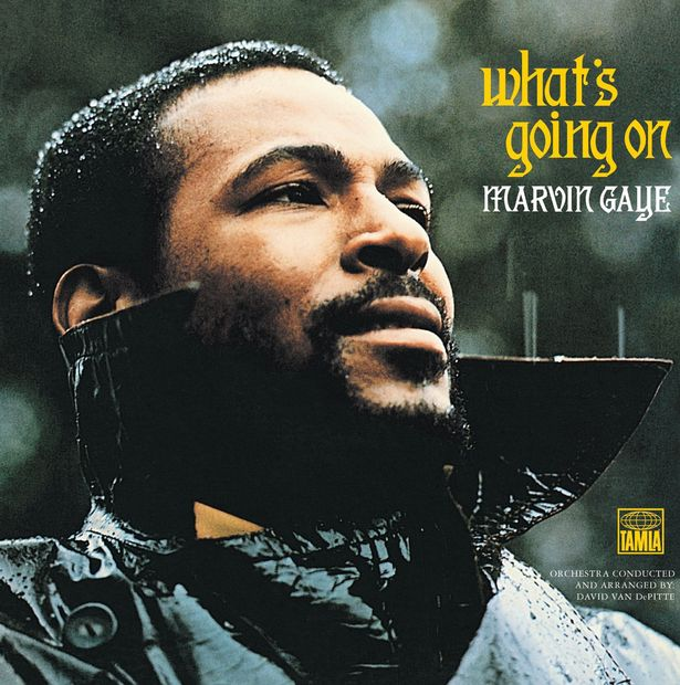 Marvin Gaye What's Going On Album cover 1971