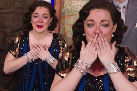 sheridan smith breaks down in tears at funny girl opening night after clashing with producers over father s cancer mirror online