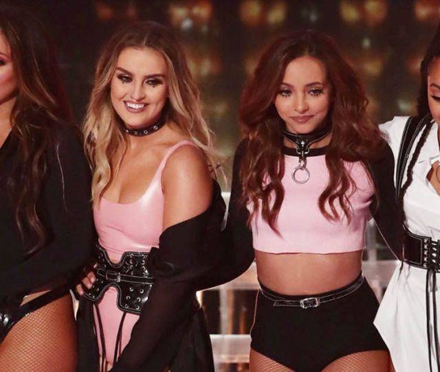 Little Mix Slammed For Wearing Stripper And Prostitute Outfits For X Factor Shoutout To My Ex Performance Mirror Online