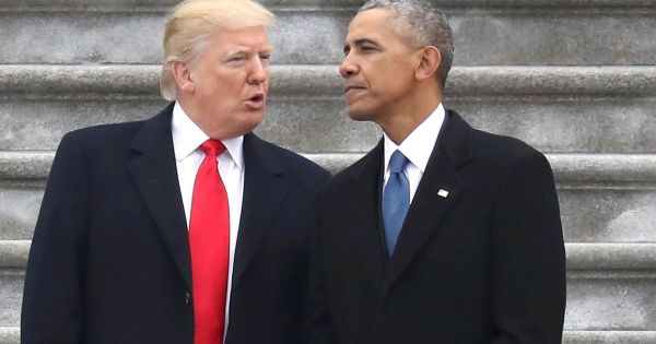 Barack Obama breaks silence on Donald Trump and encourages ...
