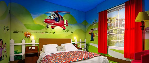 There S Even A Postman Pat Room