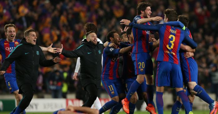 Image result for Barcelona Celebrates 10th Year August Streak after late VAR drama