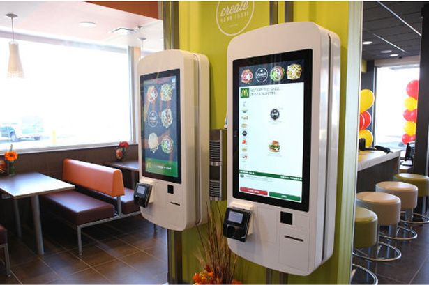 Clappy Meal McDonalds Launches Futuristic Touchscreen