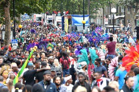 Notting Hill residents have a bit of a love-hate relationship with carnival, as in some love it and some hate it!