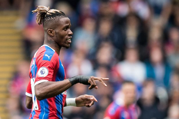 Wilfried Zaha watch: How the Arsenal and Everton transfer target ...