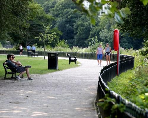 Path linking tram to Nottingham park shutting for £4.8m restoration -  Nottinghamshire Live