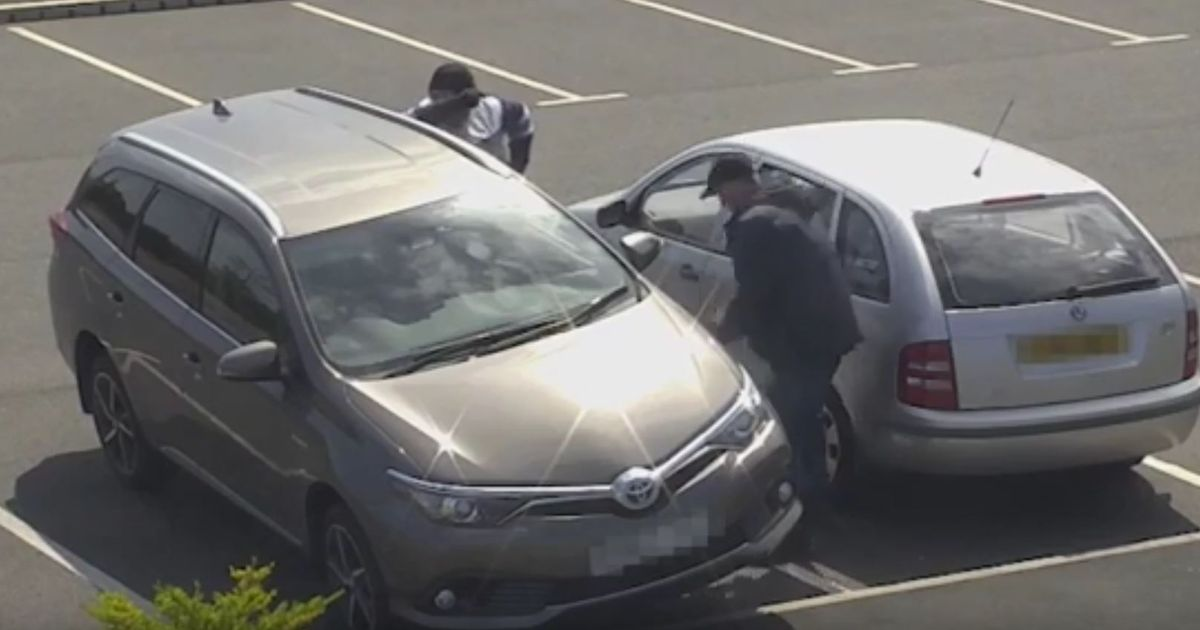 CCTV footage released after catalytic converter theft at park and ride