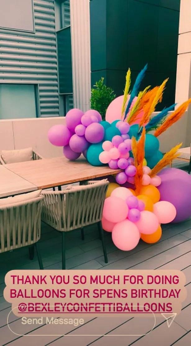 Vogue se aseguró de que la casa de ella y Spencer estuviera decorada adecuadamente para su cumpleaños