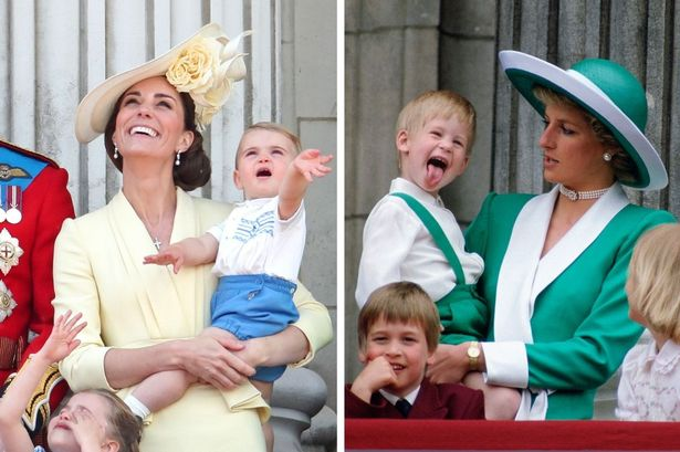 Here are the best stylish moments from the royal mum from Kate Middleton to Princess Diana