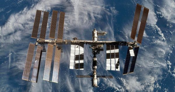 You could see the International Space Station over ...