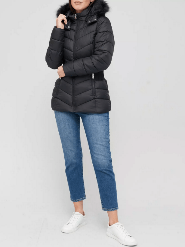 V-by-Very-Short-Padded-Jacket-with-Faux-Fur-60-littlewoodsireland
