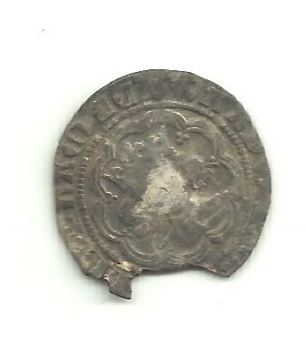 The silver groat is thought to date back to the mid-14th century. It was discovered by Jamie Pringle in his back garden