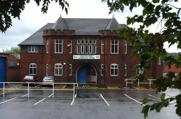 Stoke-on-Trent Gymnastics Centre, in Burslem