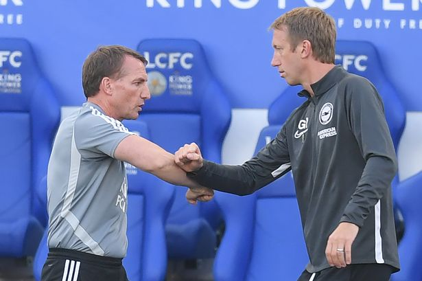 Brighton boss Graham Potter says Man Utd 'a step up' from Arsenal and  Leicester City - SussexLive