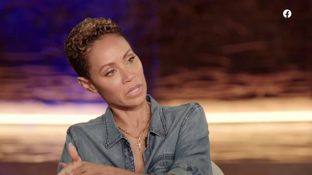 Jada Pinkett Smith on RTT Picture: Red Table Talk
